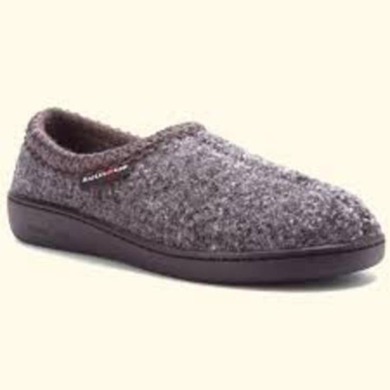 Haflinger ATB 73 Dark grey speckle hard sole